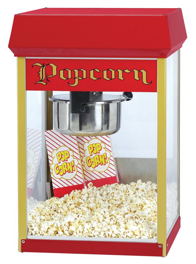 Hyra popcornmaskin 8oz