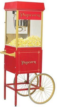 Hyra popcornvagn Stockholm